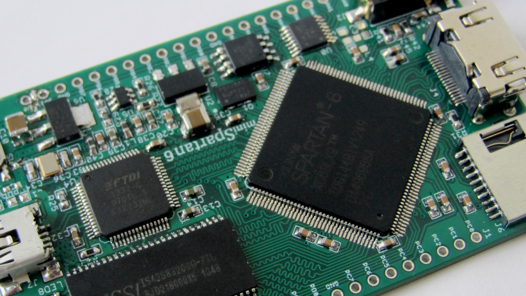 miniSpartan6+ : A Powerful FPGA Board and Easy to Use IDE project video thumbnail