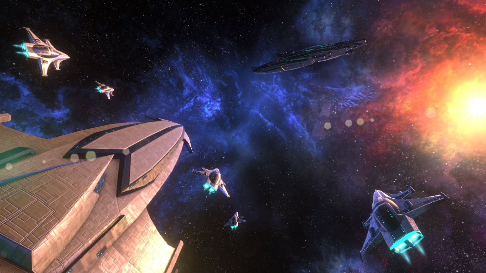 Experience classic lane tower defense and arcade style action on a futuristic starship!