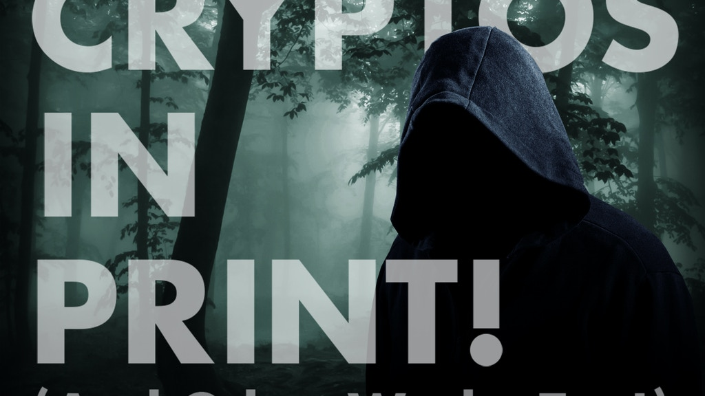 Cryptos in Print (and other works too)! project video thumbnail