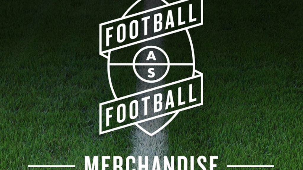 Project image for Football As Football - Merchandise