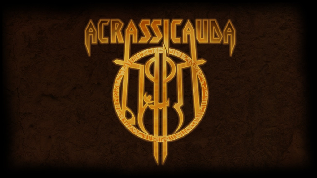 Acrassicauda's Official First Full Length Album project video thumbnail