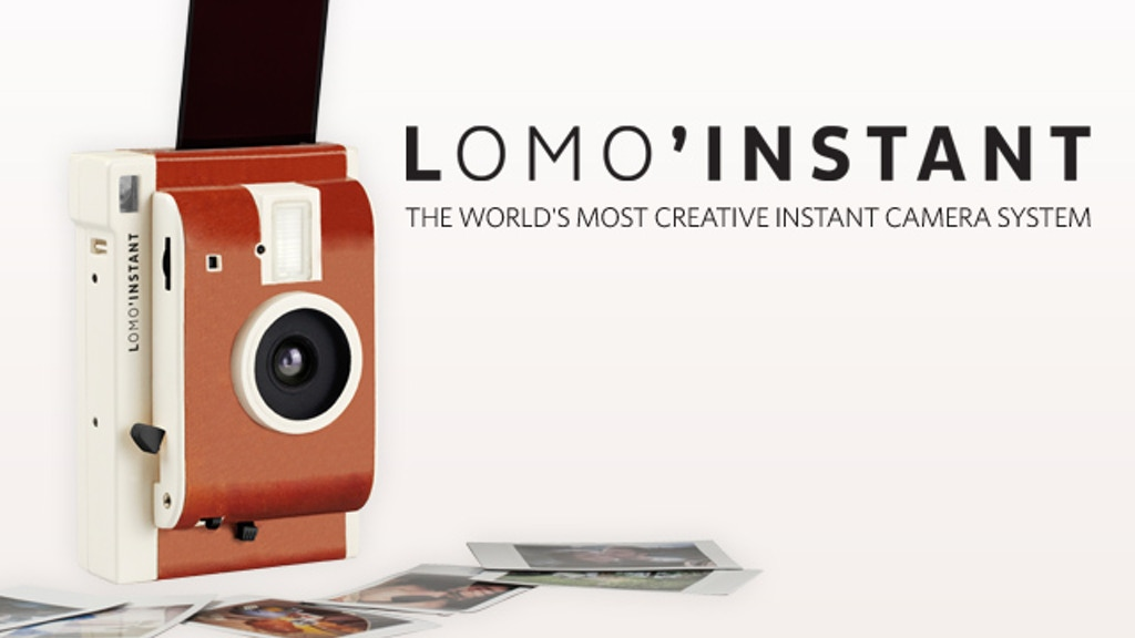 The Lomo'Instant Camera project video thumbnail