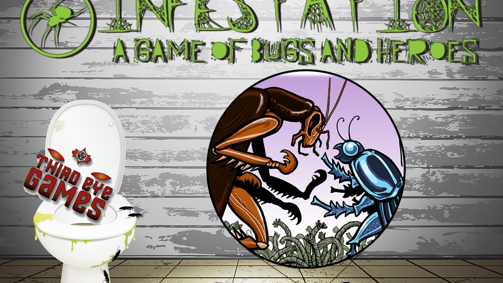 Infestation, A Game of Bugs and Heroes from Third Eye Games project video thumbnail