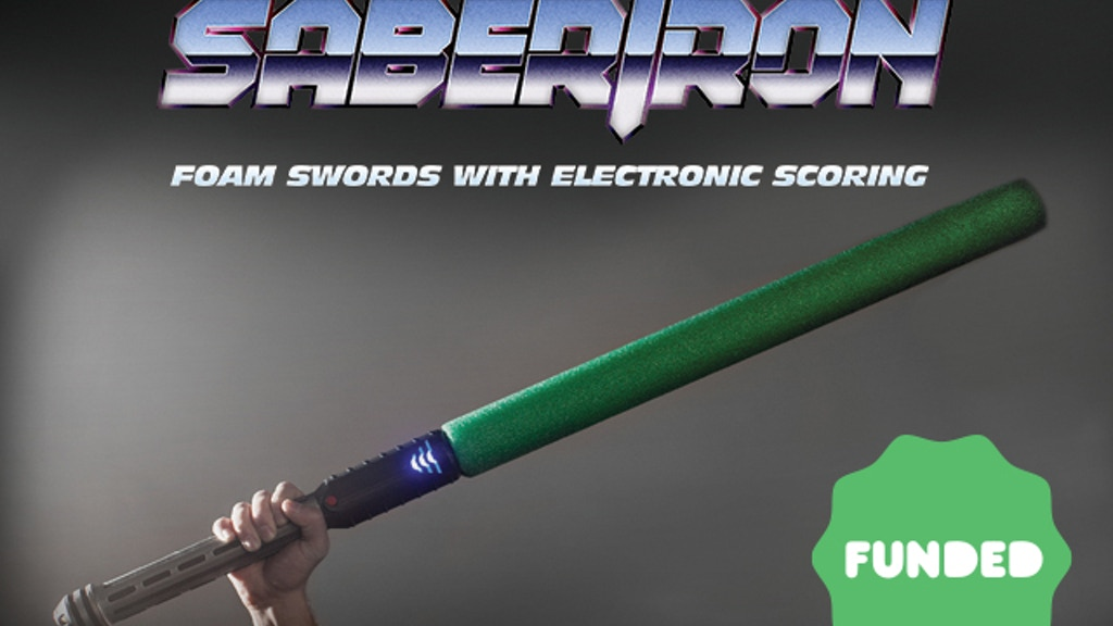 Sabertron: Foam Swords with Electronic Scoring project video thumbnail