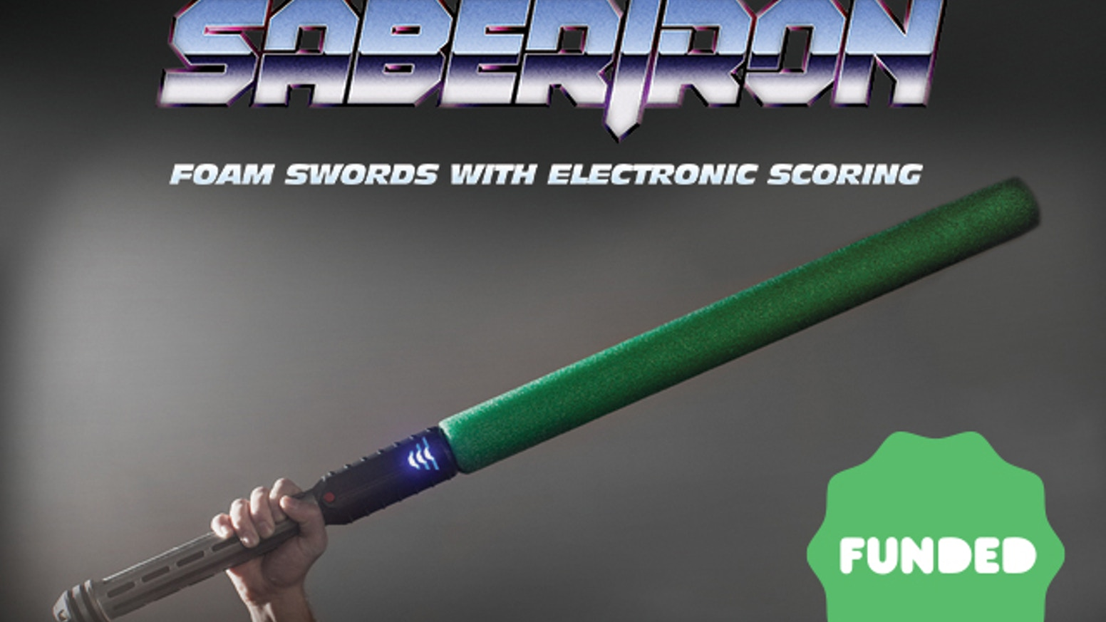 Sabertron: Foam Swords with Electronic Scoring by LevelUp