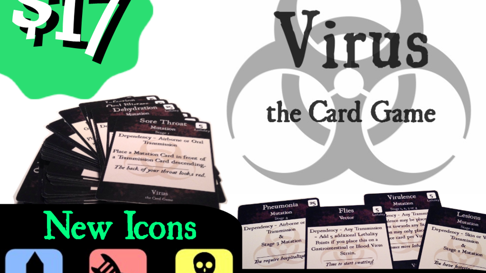 Be the Mad Scientist you always wanted to become.  Create a Virus that is 100% Lethal!  $17