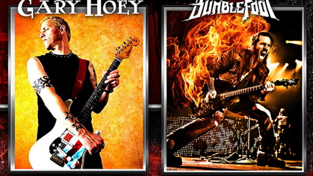 Gary Hoey and Bumblefoot Guitar Gods Tour! project video thumbnail
