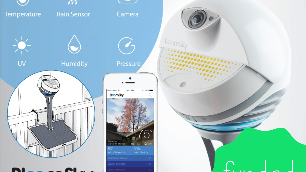 BloomSky: World's First Smart Weather Camera project video thumbnail