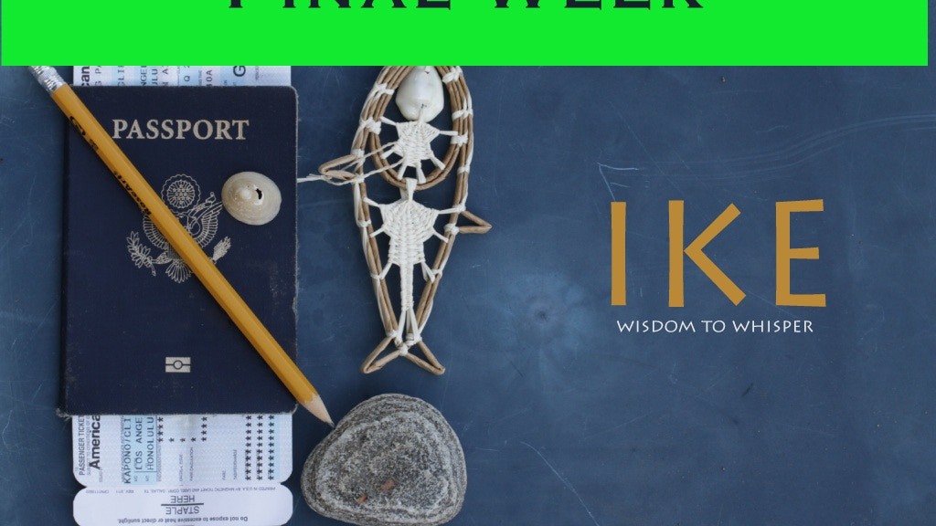 Ike: wisdom to whisper - A short Documentary project video thumbnail