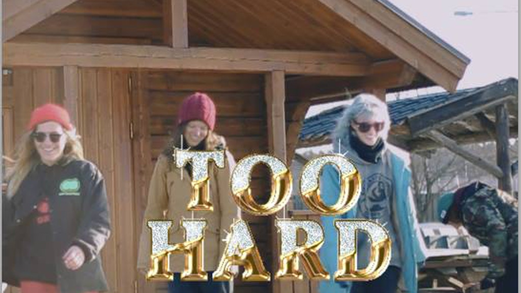 Too Hard - All Women's Snowboard Project project video thumbnail