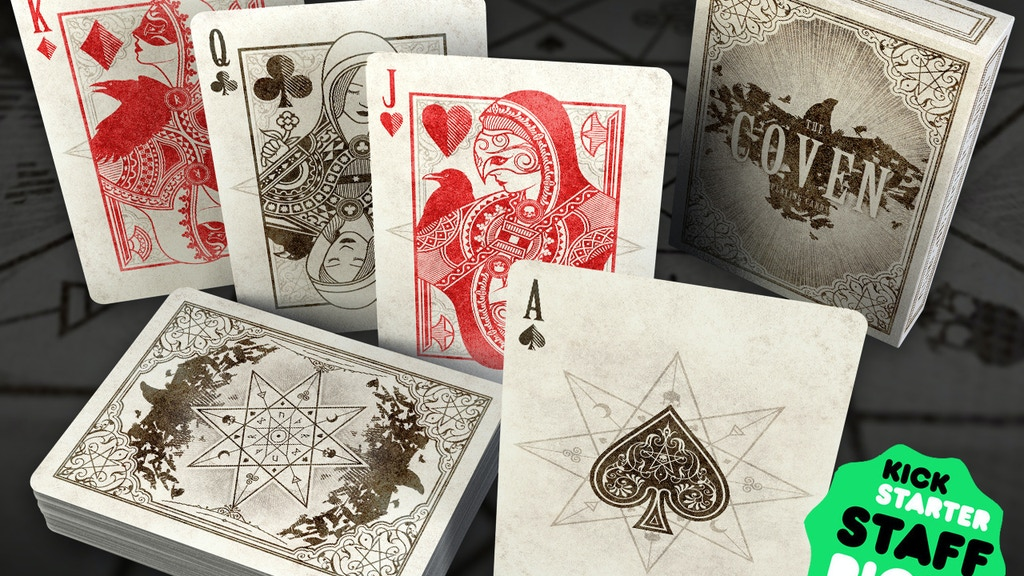 The Coven - Playing Cards project video thumbnail