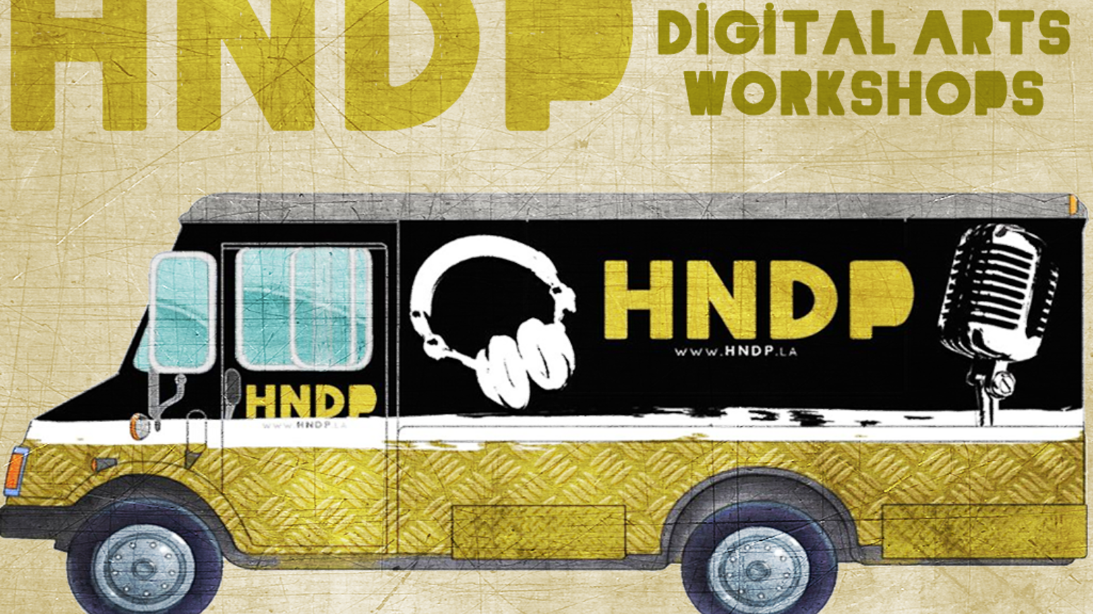 HNDP Music & Digital Arts Truck for Youth Content Creators ...