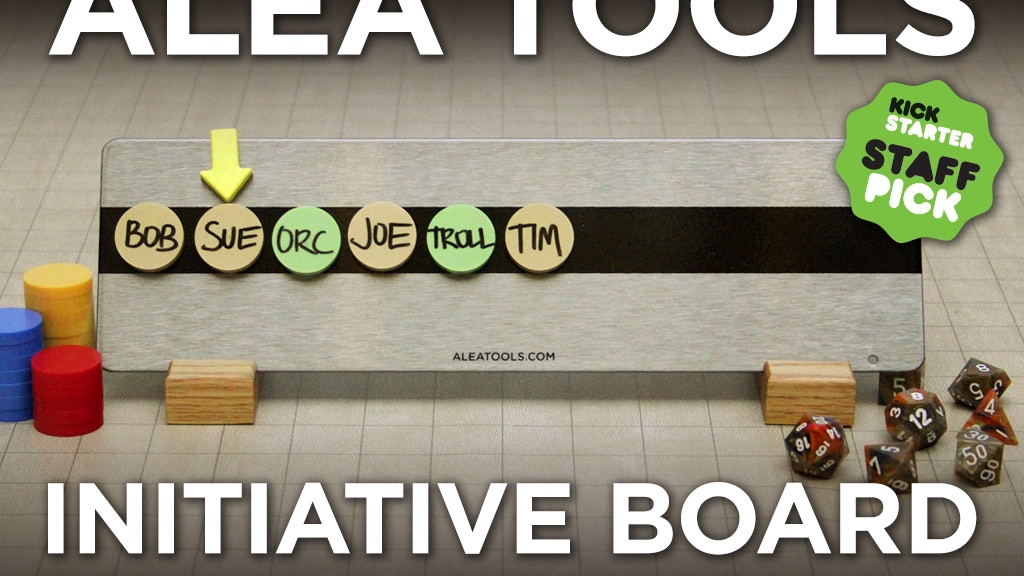 Alea Tools - RPG Initiative Board project video thumbnail