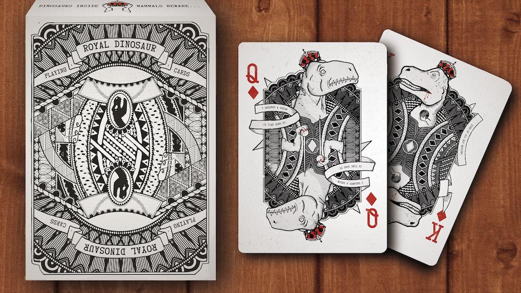 Royal Dinosaur Playing Cards project video thumbnail