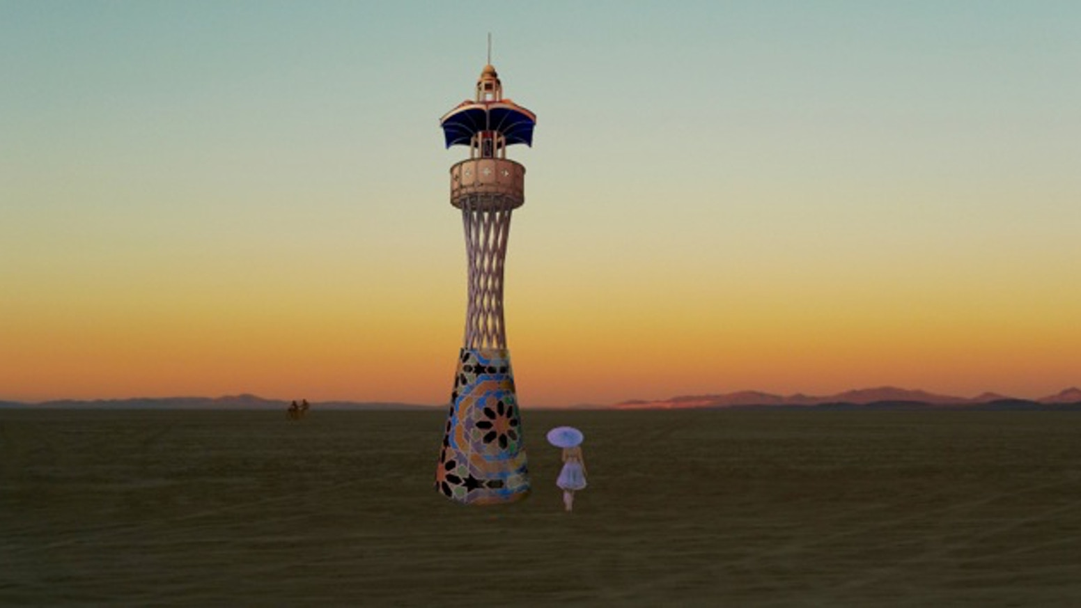 Cosmic Praise: A Burning Man Honorarium Art Project for 2014
