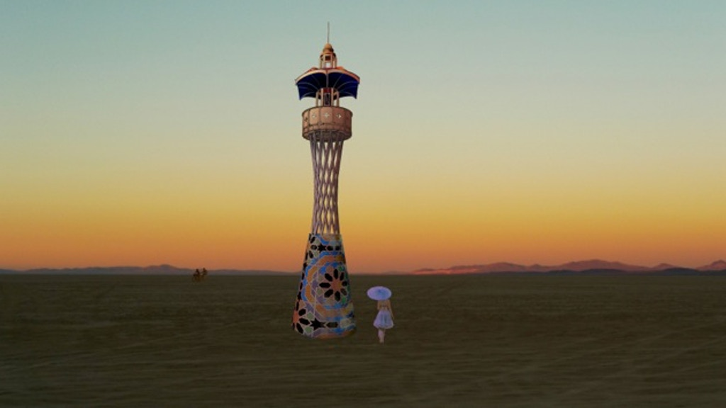 Cosmic Praise: A Burning Man Honorarium Art Project for 2014 project video thumbnail