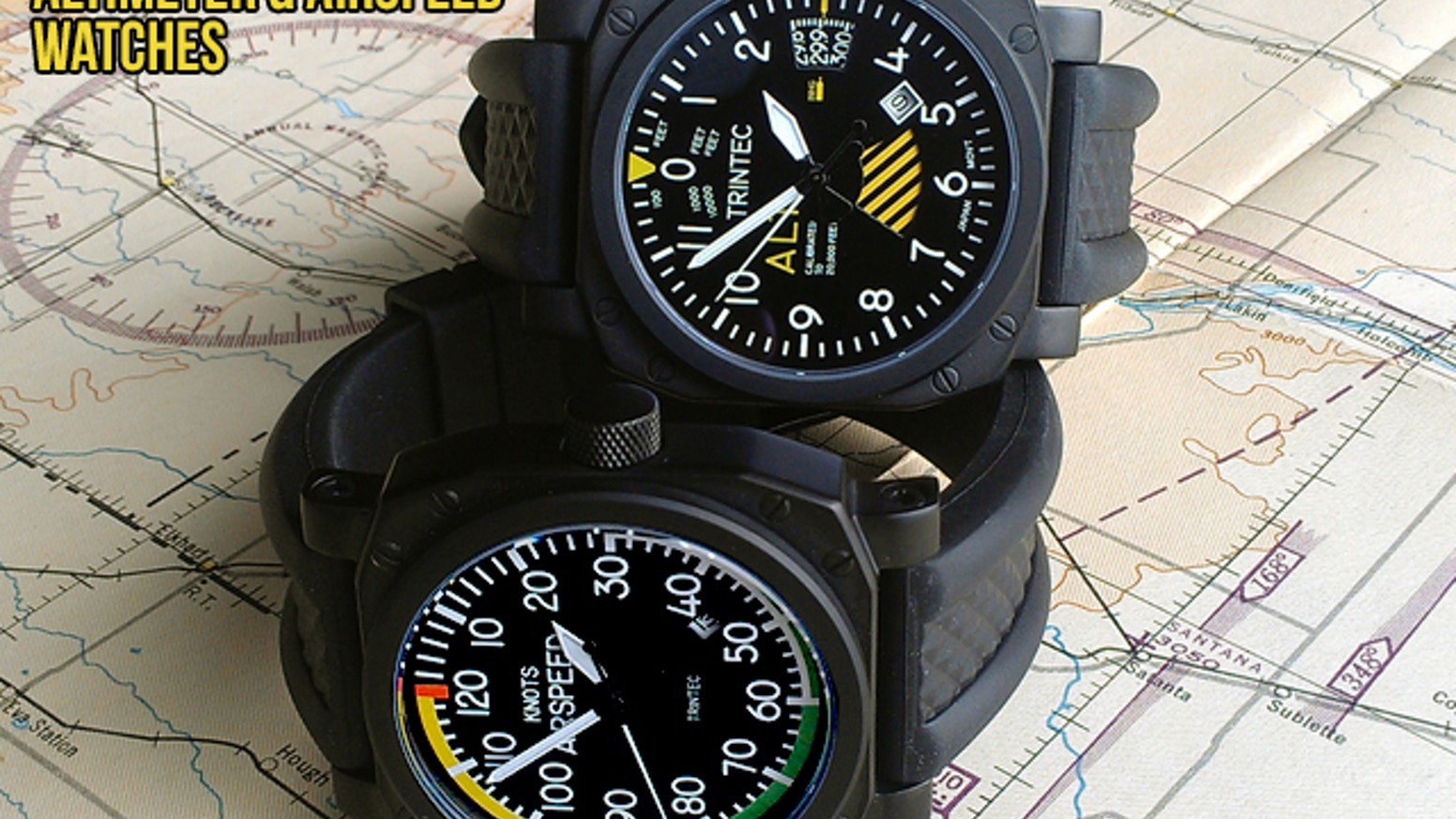 The Fusion of Time and Aviation Instruments Since 1984! Comfortable in a Cockpit or at a Cocktail Party!