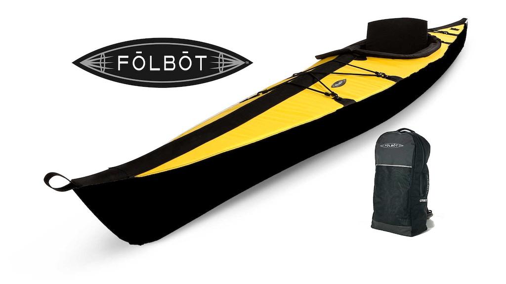 Folbot Black Edition Portable Kayak - Unfold New Adventures project video thumbnail