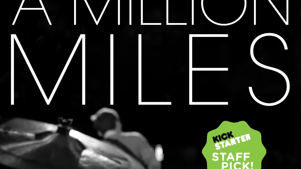 A Million Miles - a novel project video thumbnail