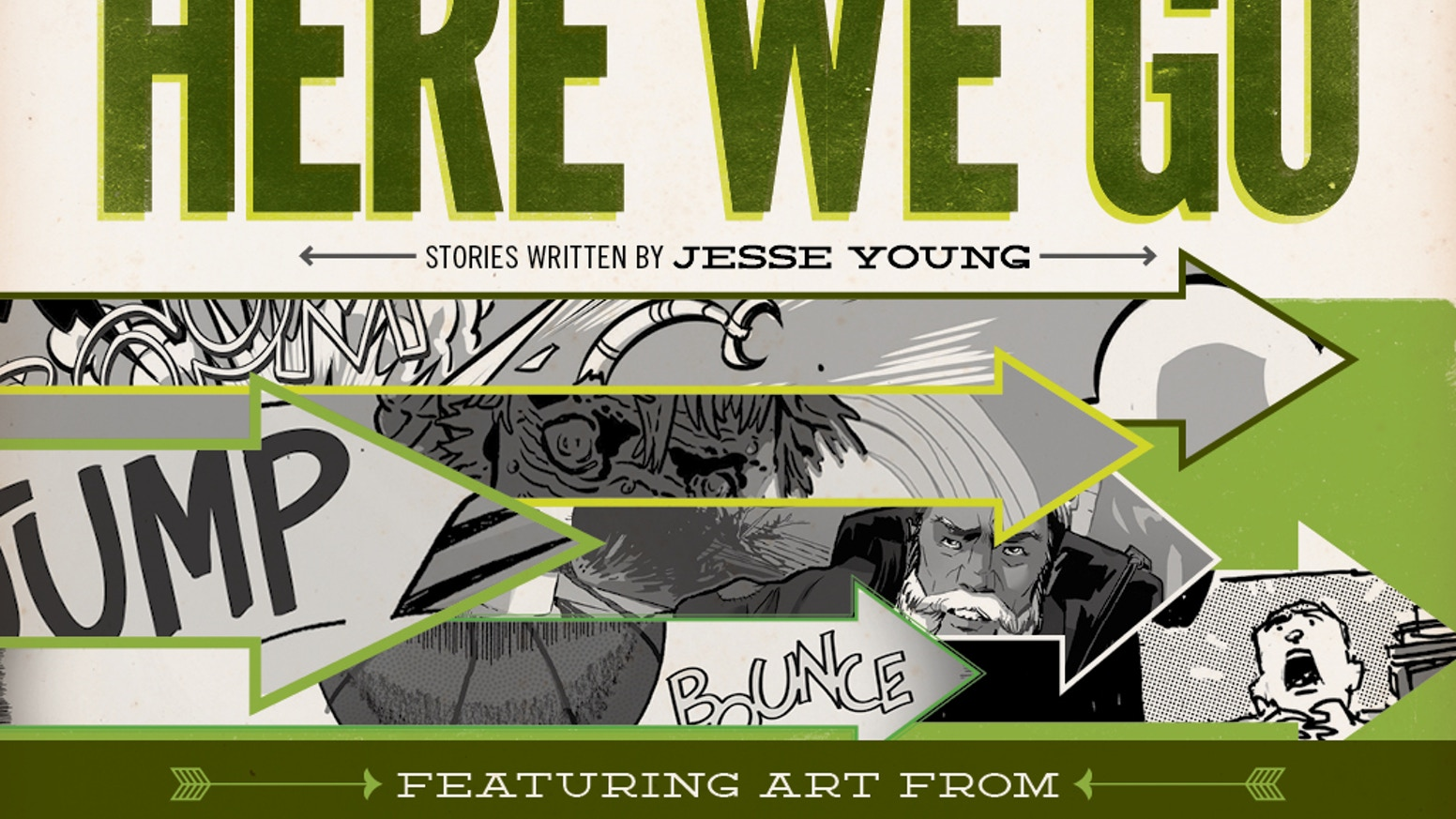 Here We Go (A Collection of Short Comics) by Jesse Young — Kickstarter