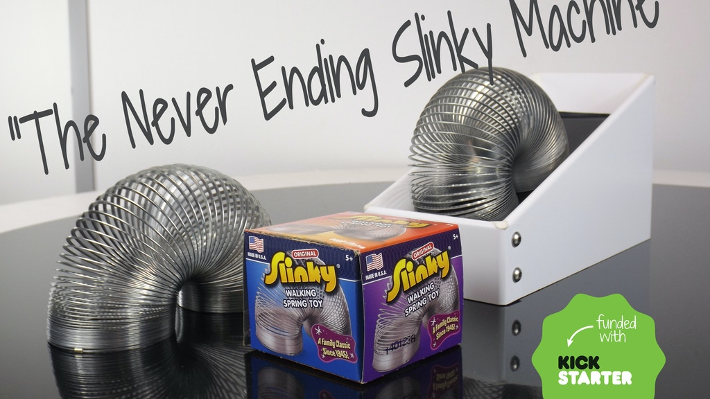 Project NESM | Never Ending Slinky Machine project video thumbnail