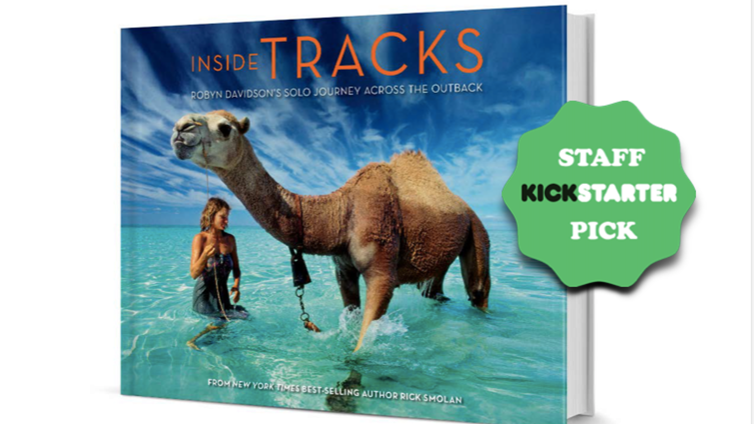 A Stunning Smartphone Enabled Coffee Table Book Based On Robyn Davidsons Legendary 1700 Mile Camel Trek