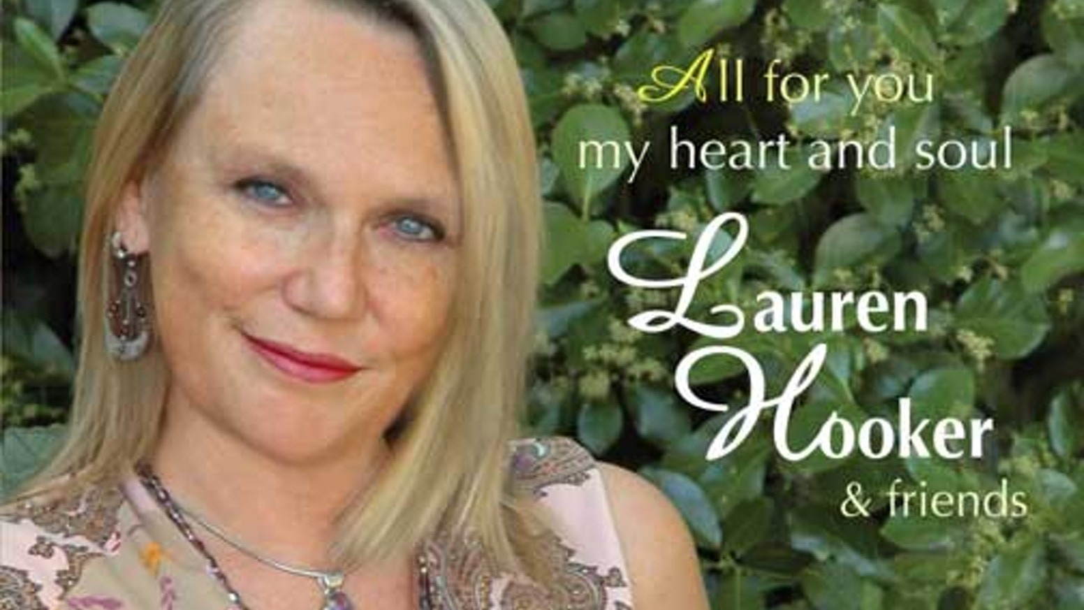 CD: All For You My Heart and Soul - Lauren Hooker & Friends