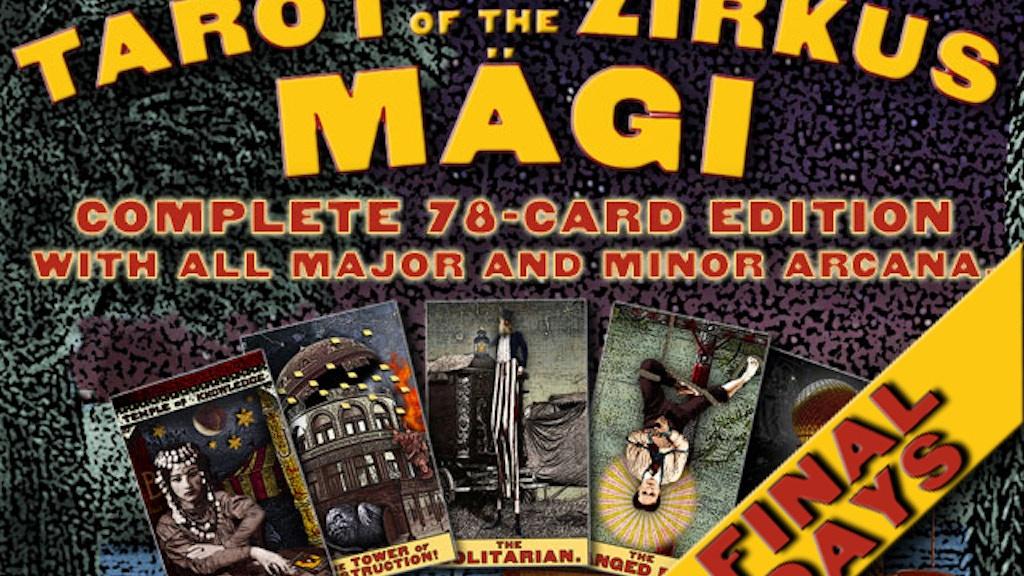 Tarot of the Zirkus Mägi: FULL DECK project video thumbnail