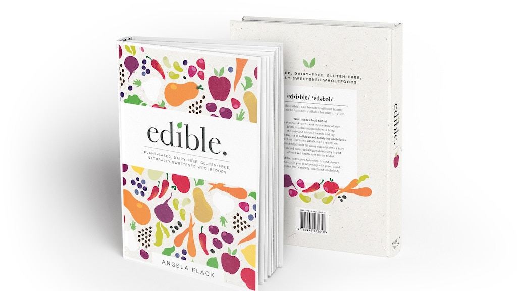 Edible: The Book project video thumbnail