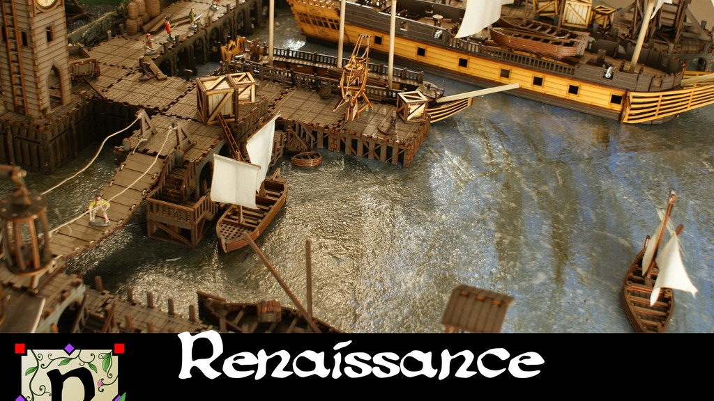 Ships, Pirates and WildWest Terrain for 28mm Gamers project video thumbnail