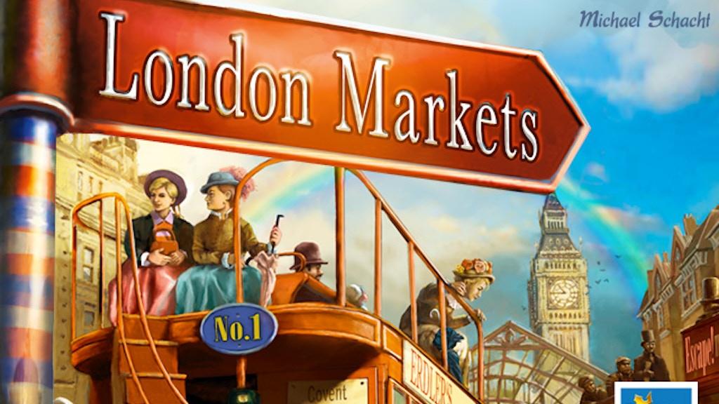 London Markets project video thumbnail