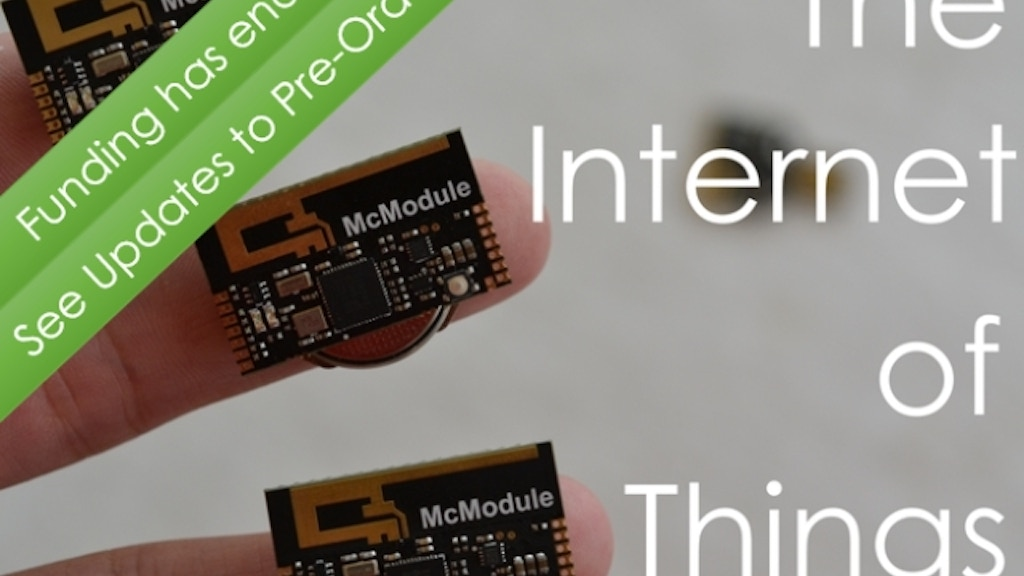 McThings: Tiny Wireless Bluetooth Sensors and Controlers project video thumbnail