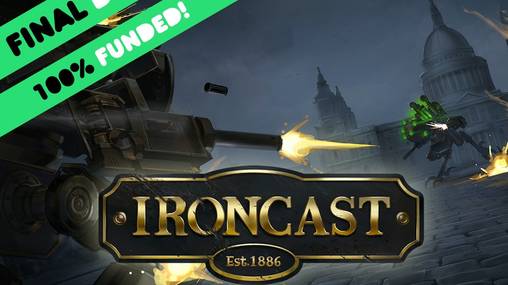 Ironcast: Turn-based Steampunk Mech Combat project video thumbnail