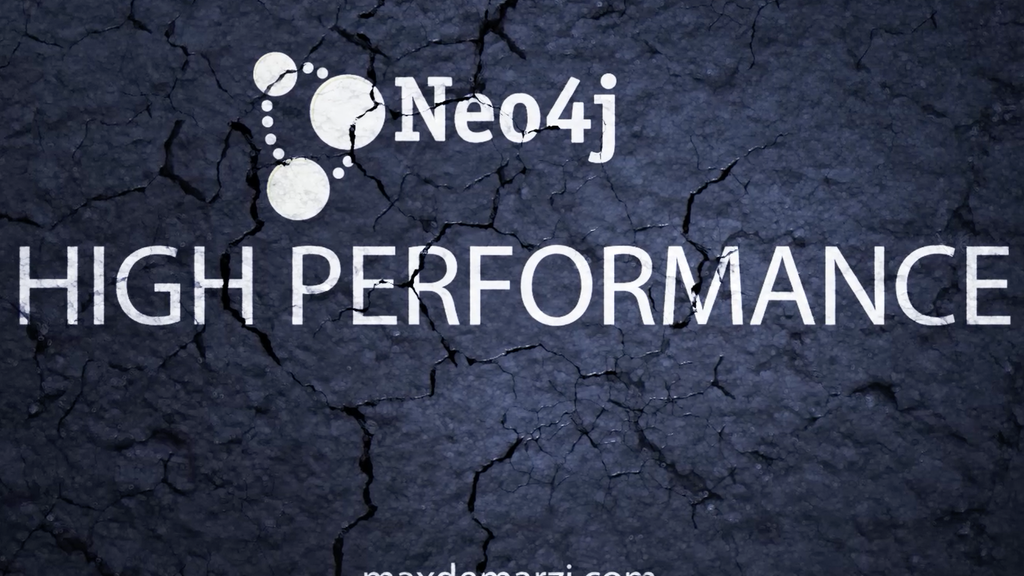 High Performance Neo4j Video Course project video thumbnail