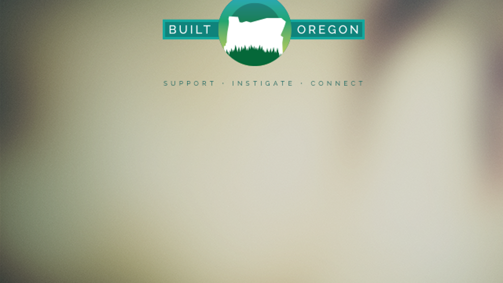 Built Oregon project video thumbnail
