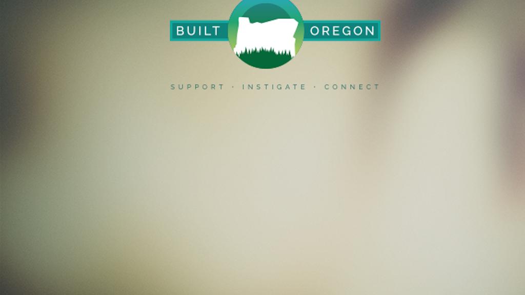 Built Oregon project video thumbnail