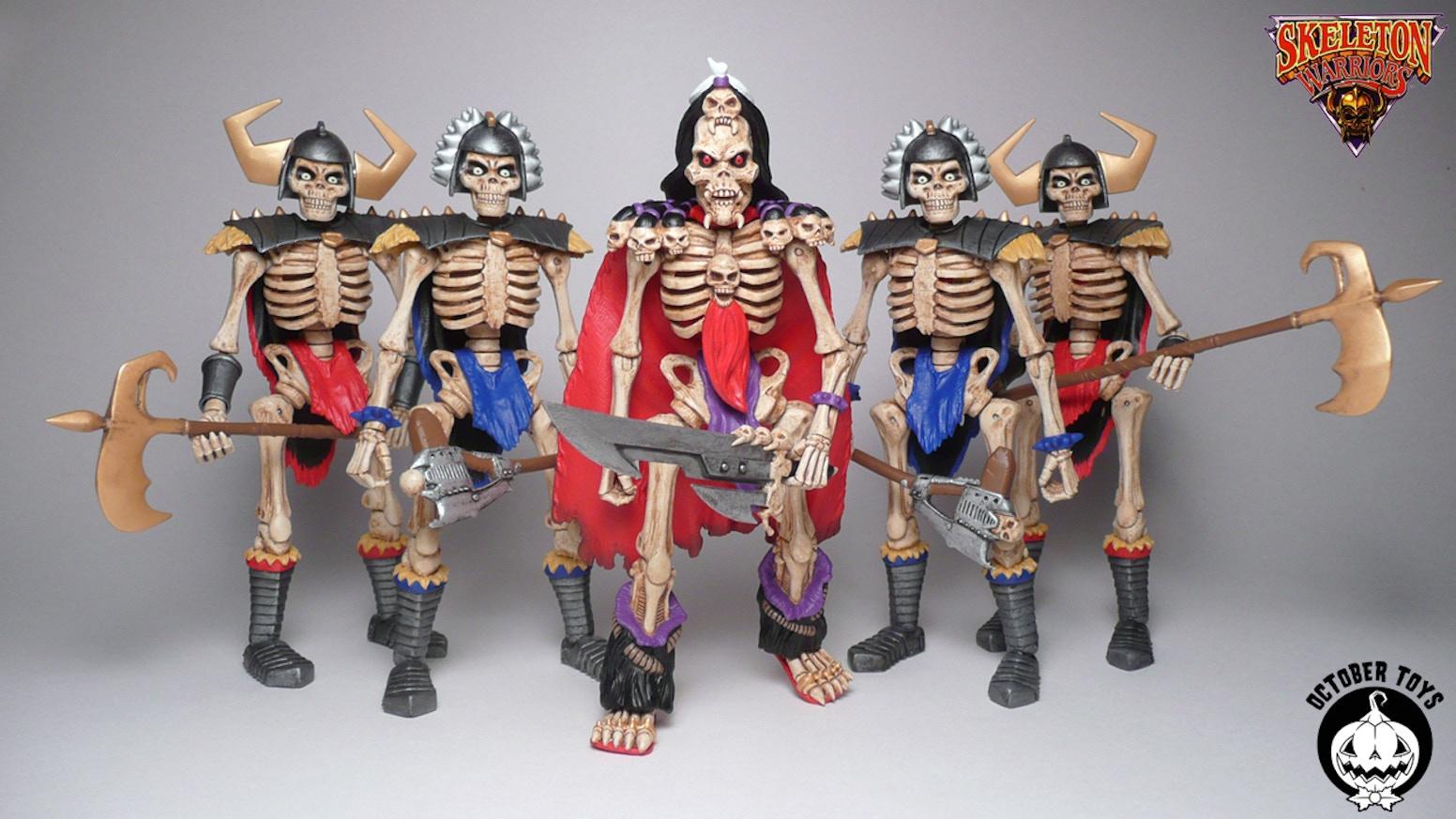 Skeleton Warriors Toys 2