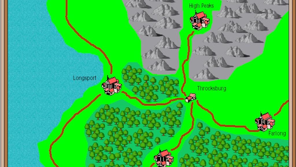 Project image for Throcksburg - a fantasy location - PWYW
