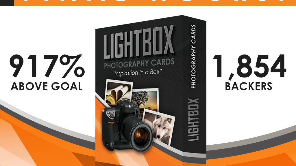 LightBox Photography Cards project video thumbnail