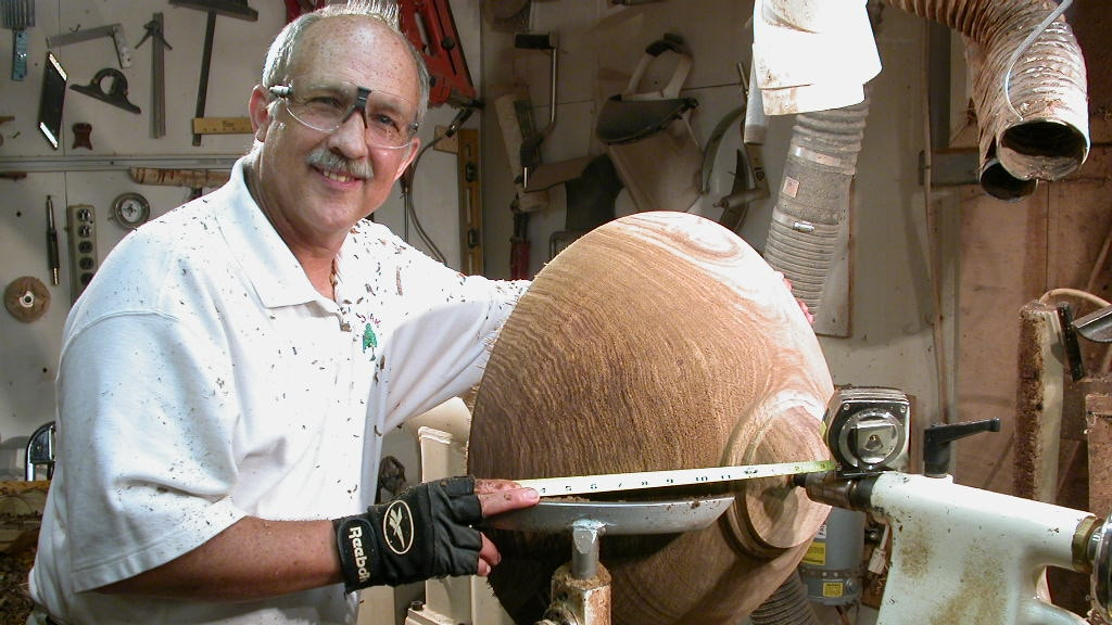 David Walsh, bowlmaker, Fine Wooden Bowls, Ltd. Edition #8 project video thumbnail