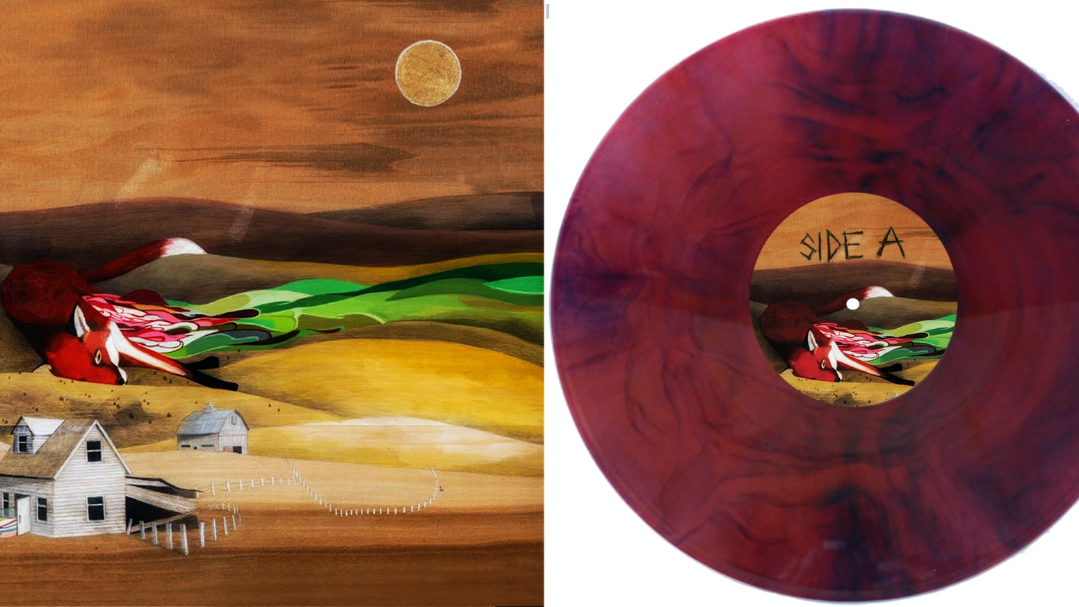 Teach Me Equals Knives In The Hope Chest Release Vinyl
