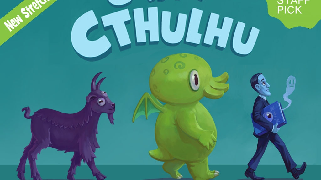 C is for Cthulhu: The Lovecraft Alphabet Board Book project video thumbnail