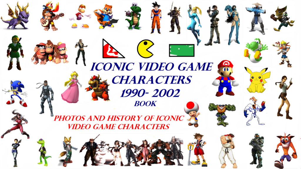 Project image for Iconic Video Game Characters 1990-2002 Book