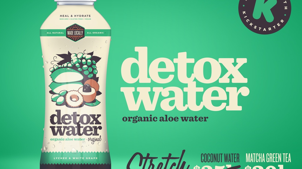 Detox Water: The Most Bio-Active Organic Aloe Water project video thumbnail