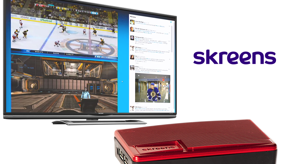 Skreens: Everything you want on one display. project video thumbnail
