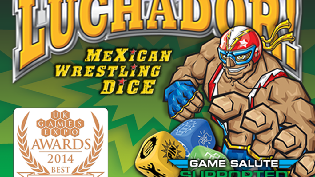 Luchador! Mexican Wrestling Dice! project video thumbnail