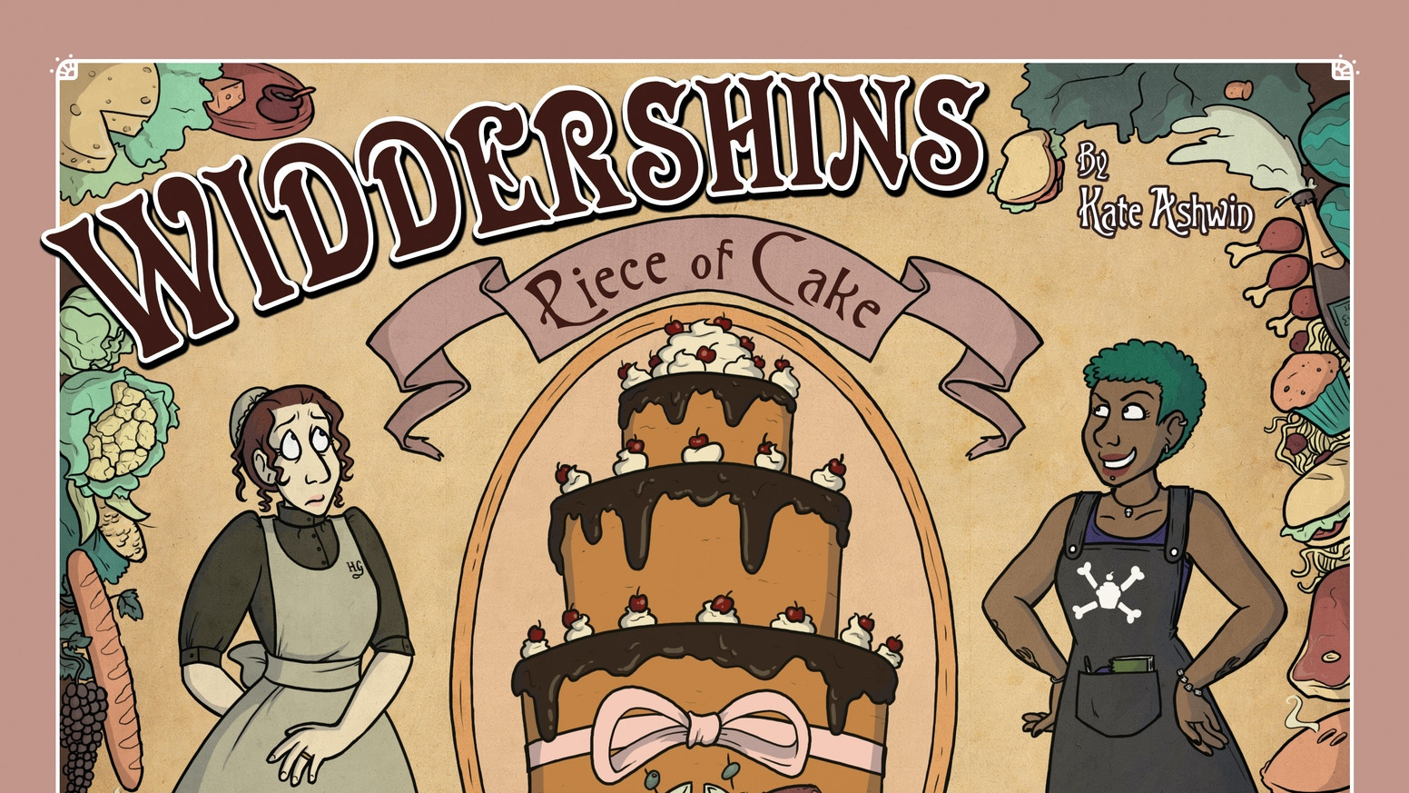 A comic featuring adventure, magic, time travel, and an excessive amount of baked goods.
