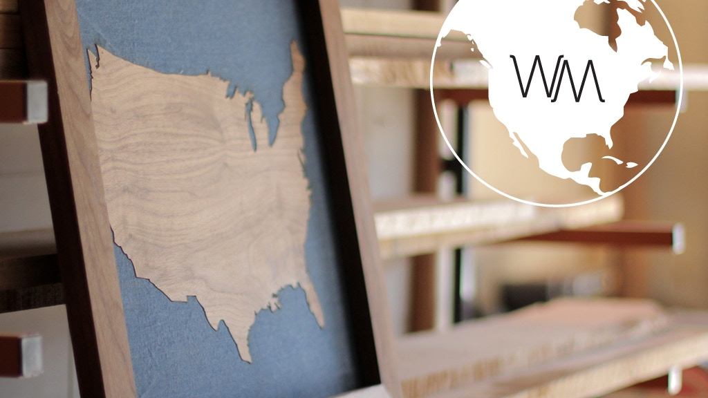 Wooden Maps project video thumbnail
