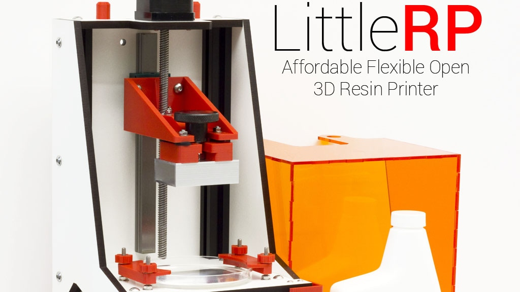 LittleRP - Affordable Flexible Open 3D Resin Printer project video thumbnail