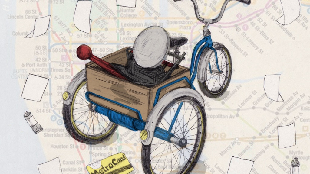 Press Cycle Project   Letterpress on Three Wheels project video thumbnail